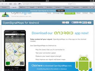screenshot open signal map
