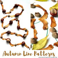 Autumn Pattern Art. Autumn Crafts for Preschoolers.