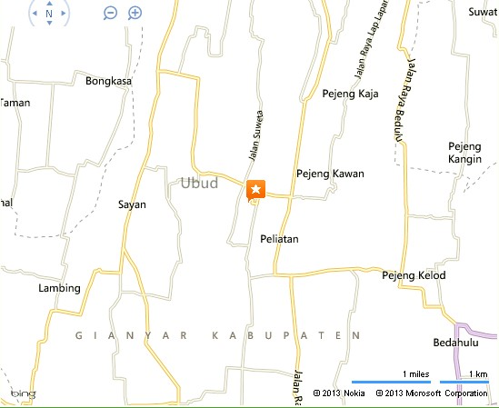 The Pure Land Gallery Himalaya Bali Location Map,Location Map of The Pure Land Gallery Himalaya Bali,The Pure Land Gallery Himalaya Bali accommodation destinations attractions hotels map photos pictures