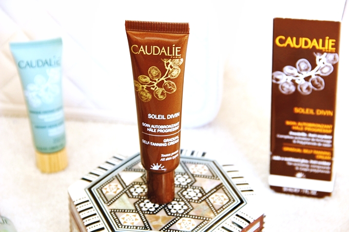 Caudalie Soleil Divin gradual self-tanning face cream.Najbolje kreme za samopotamnjivanje lica.Best travel size beauty products.