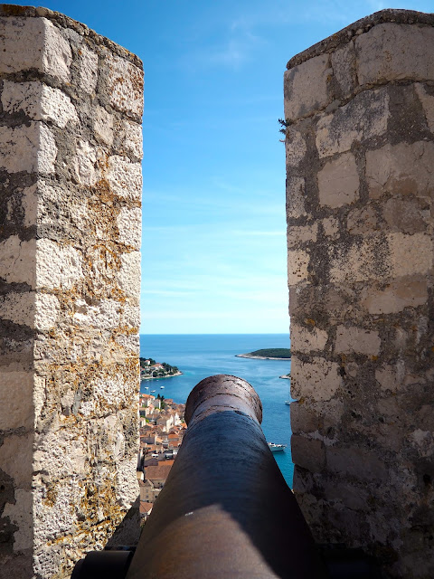 Spanish Fortress, Hvar, Dalmatian Coast Islands, Croatia