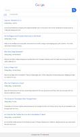 Template Blogger Mirip Google Versi Mobile!