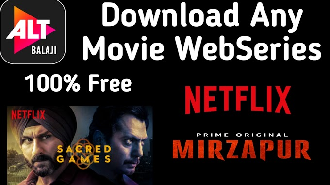 How to Download any new/old Hindi & English Web Series ??