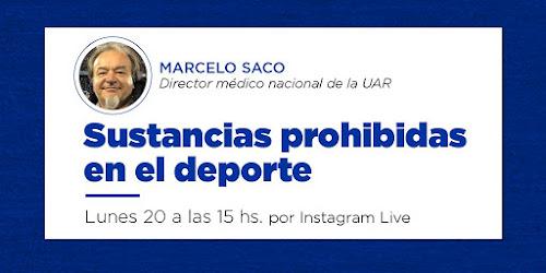 Dr. Marcelo Saco #CapacitaciónUAR