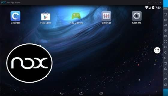 برنامج Nox App Player لتشغيل الاندرويد على الكمبيوتر