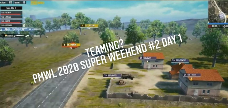 Tim Thailand Teaming di Super Weekend 2 PMWL East ?
