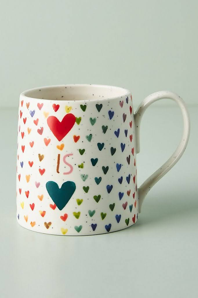 Good Tidings Mug | Anthropologie