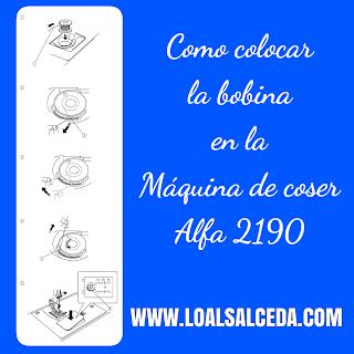 Colocacion bobina en Alfa 2190