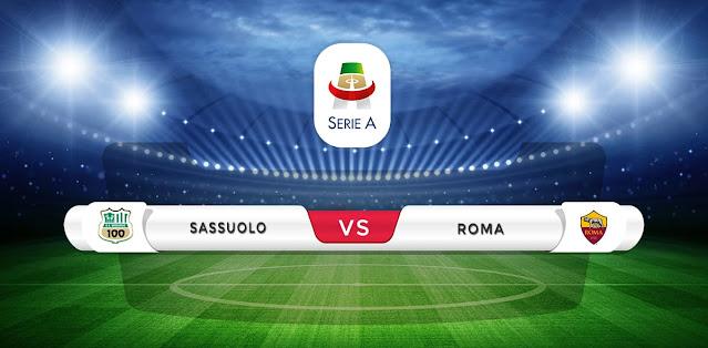 Sassuolo vs Roma Prediction & Match Preview
