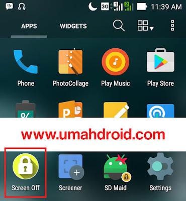 Posting kali ini kita akan sharing tutorial untuk menyalakan dan memenonaktifkan layar HP Andro Menghidupkan dan Memenonaktifkan Layar Android Tanpa Tombol Power No Root