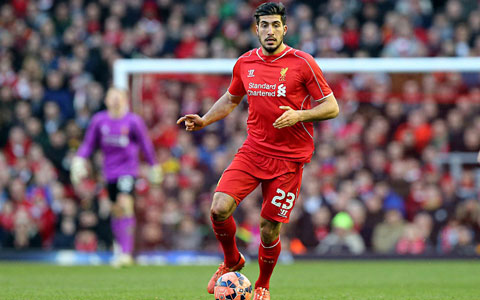 Emre Can của Liverpool