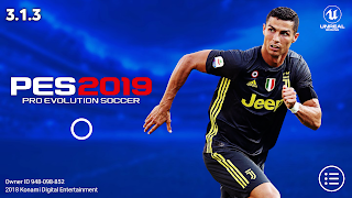 PES 2019 Mobile v3.1.3 New Graphics,Kits Patch Android