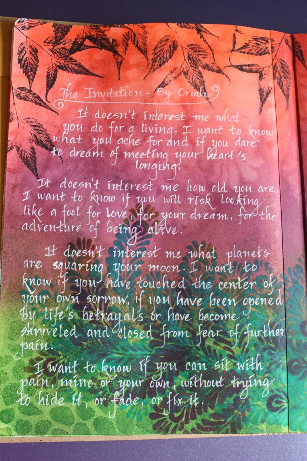 love risk poem