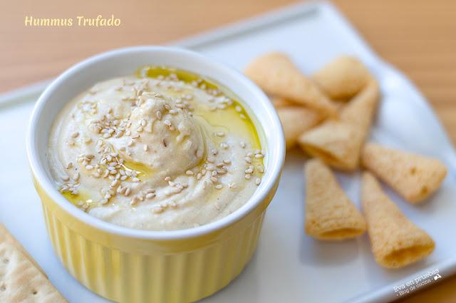 Hummus trufado / Eva en pruebas