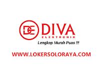Lowongan Kerja Diva Elektronik Sukoharjo Sales Grosir dan Admin Purchasing