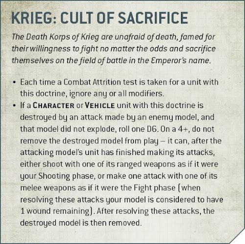 Doctrina Regimiento Korps de la muerte de Krieg