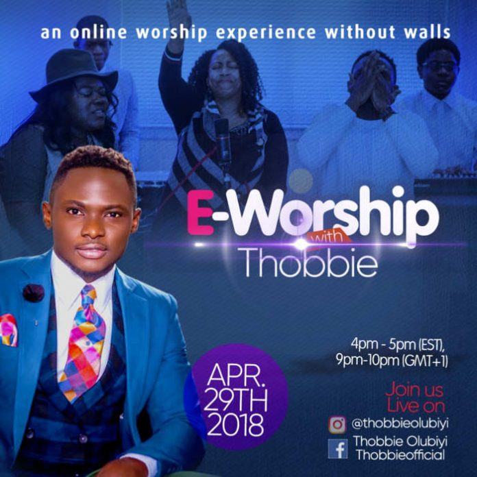 E-Worship event With Thobbie