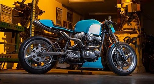 ϟ Hell Kustom ϟ: Harley Davidson Sportster By The Speed Merchant