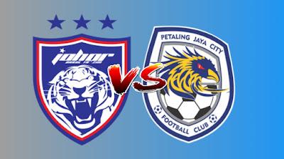 Live Streaming JDT vs PJ City FC Piala Malaysia 7.8.2019