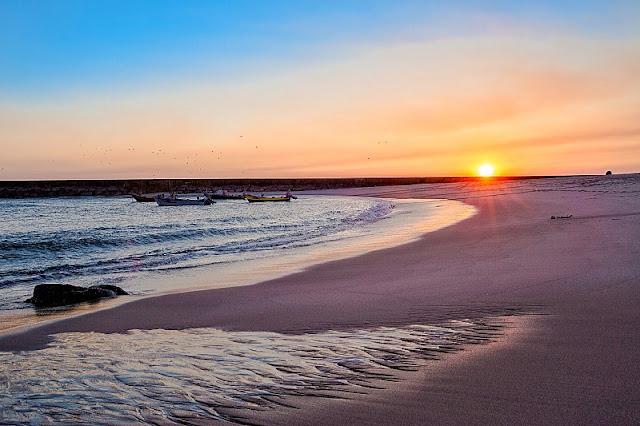 Praia da Aguda em Portugal