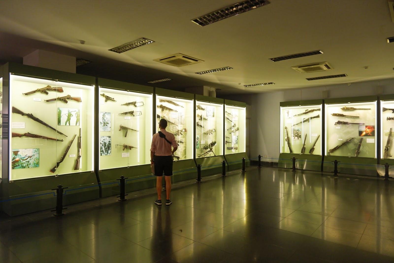 bagian dalam war remnants museum