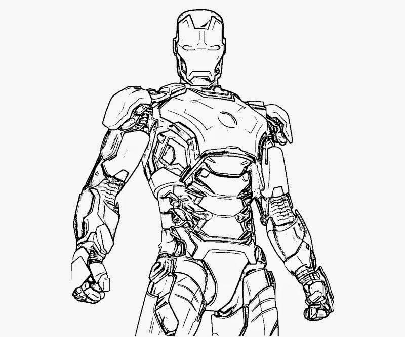 Gambar Ausmalbild Iron Man 2 Ausmalbilder Kostenlos Zum Ausdrucken ...