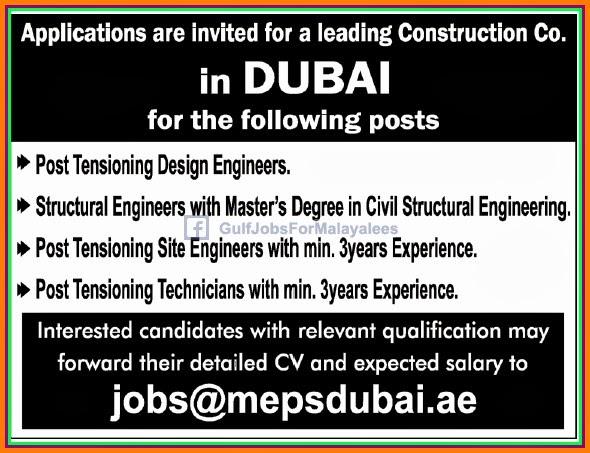 Construction Job Construction Job Dubai