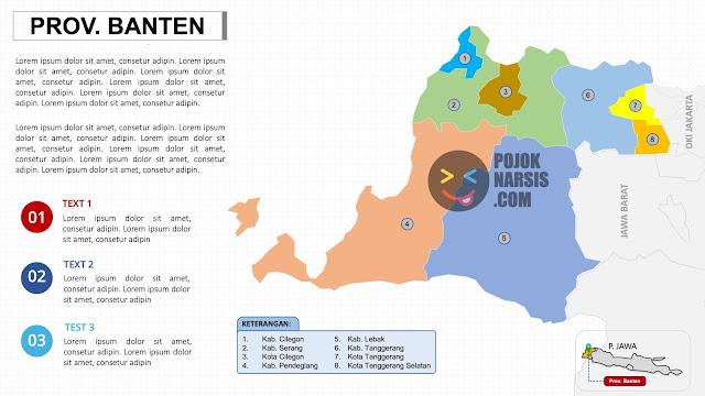 peta provinsi banten