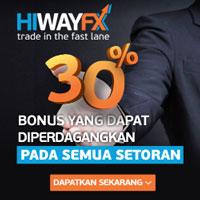 HiWayFX No Deposit Bonus $50