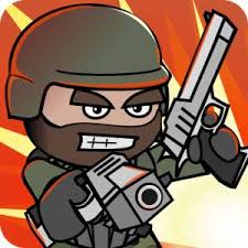 لعبة ميني ميليشيا2  mini militia - doodle army 2