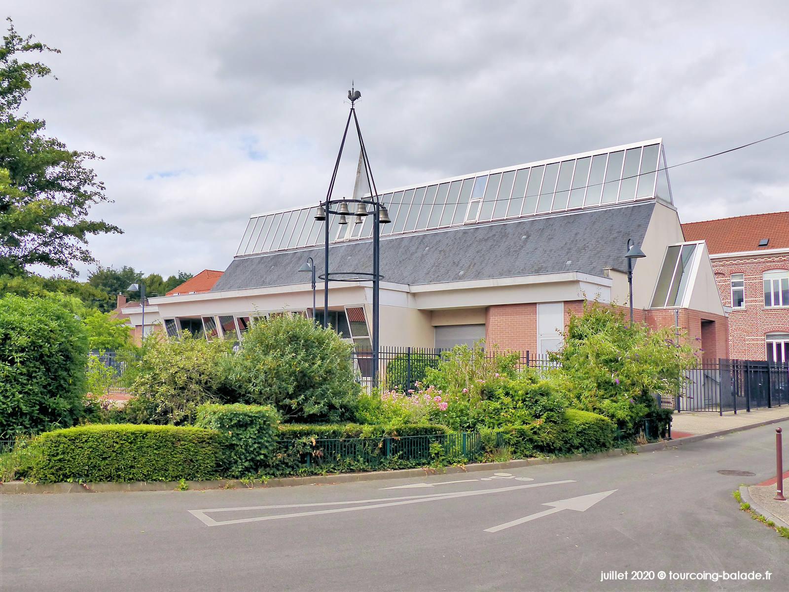 Éblise paroissiale Saint Joseph, Tourcoing 2020