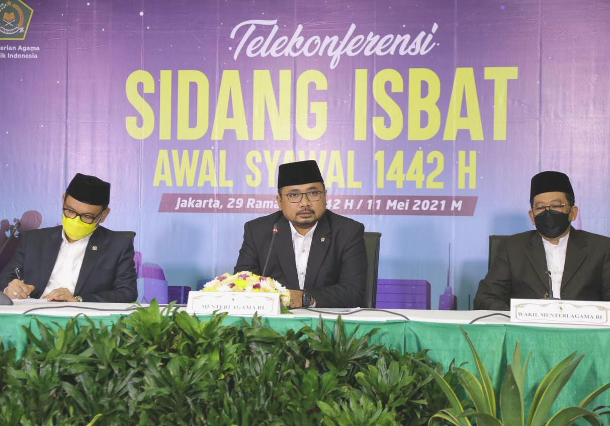 Pemerintah Menetapkan Lebaran Idul Fitri Pada Tanggal 13 Mei 2021