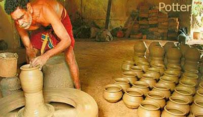 potter occupation