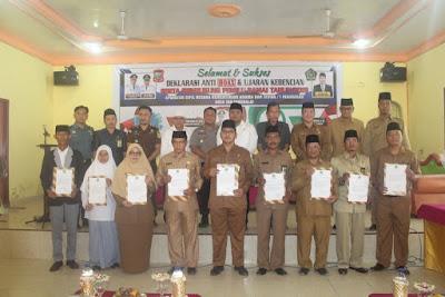 Deklarasi Anti Hoax Kemenag Tanjungbalai Berjalan Sukses