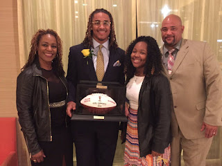 Jalen Hurts With Mom