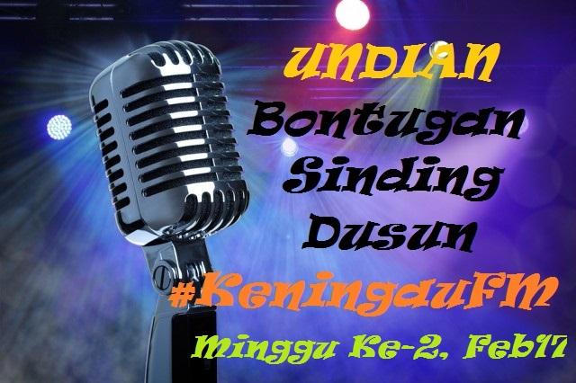 Undian Bontugan Sinding Dusun Keningau FM