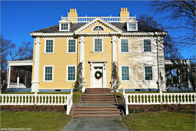 Casa de Henry Wadsworth Longfellow en Cambridge