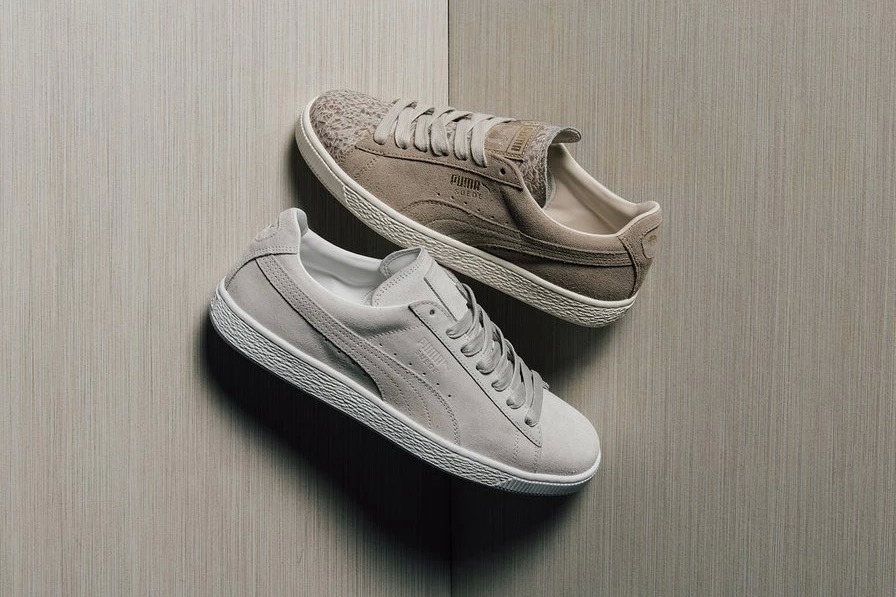 00ac3d0e853 PUMA welcomes another iteration of its Classic Suede sneaker. This time  around the line s staple sneaker honors aspects of Italy with rich designs  and ...