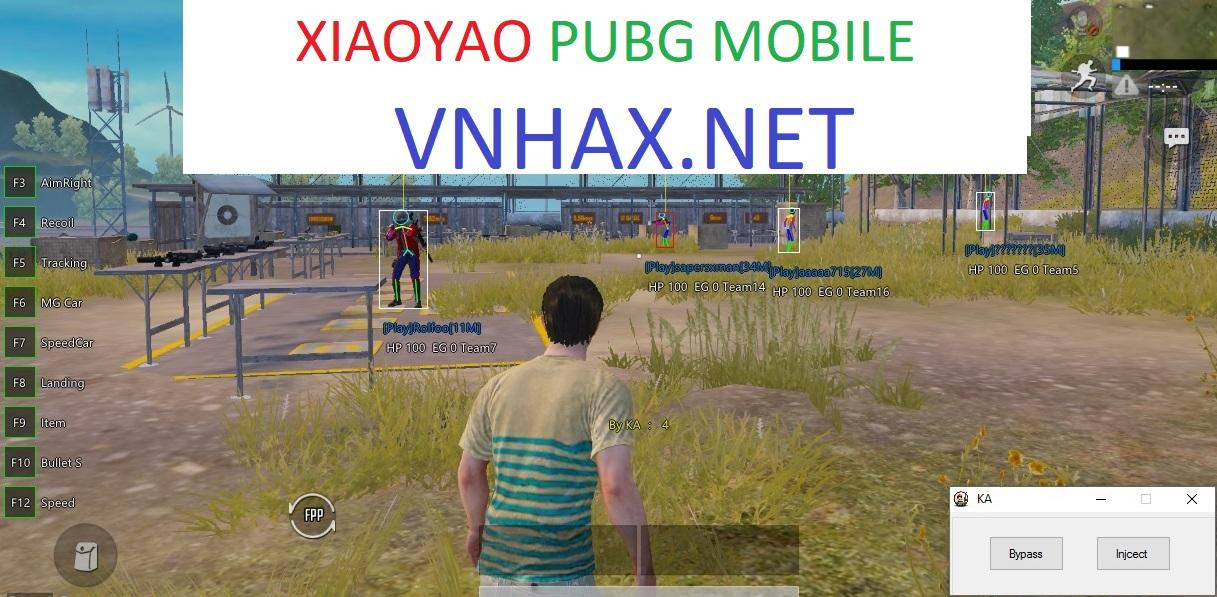 XIAOYAO Pubg Mobile 0.16.5 Mod English