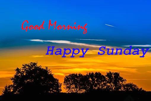 Wish You  Good Morning Happy Sunday