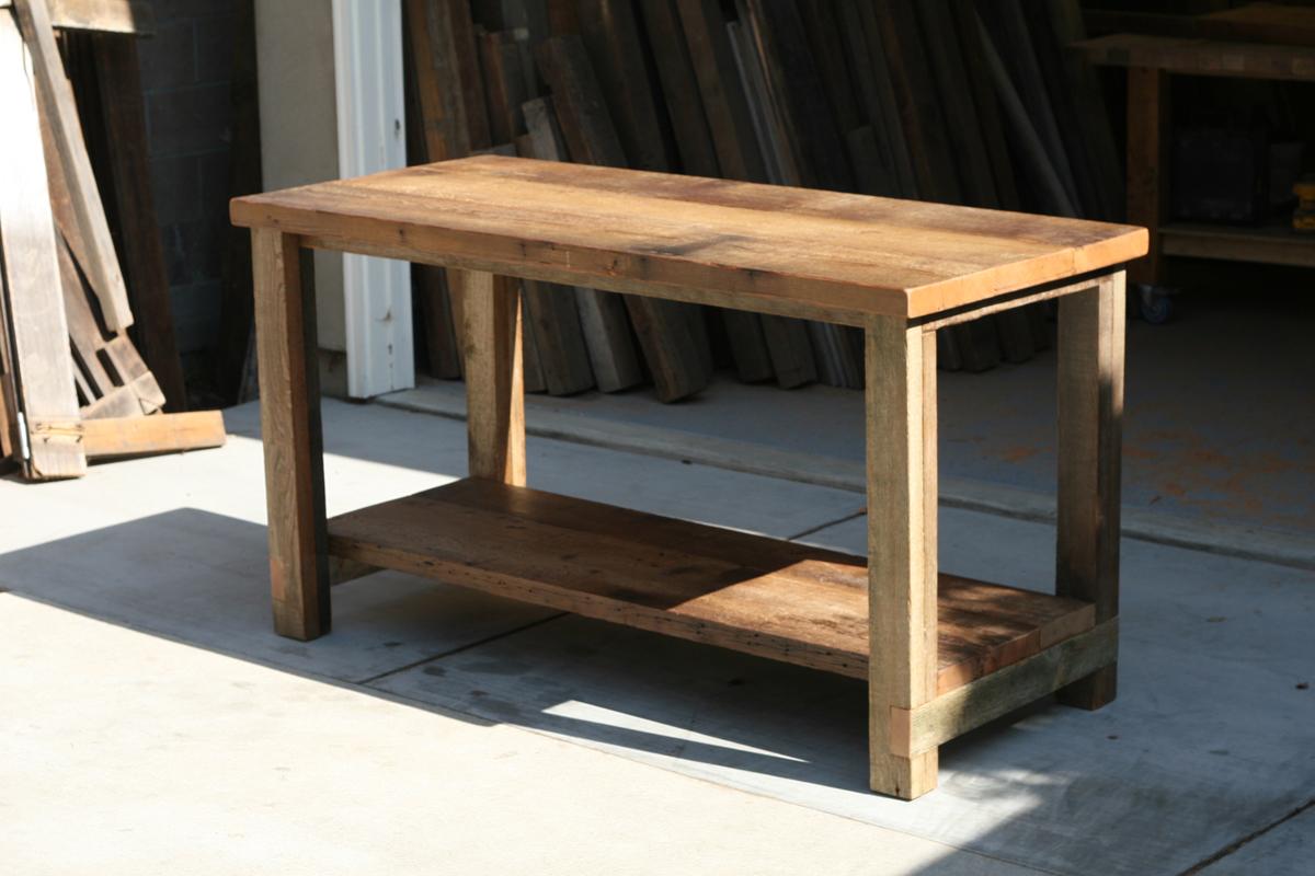 wood kitchen islands unclog sink drain arbor exchange reclaimed furniture island