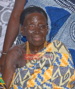 Otumfuo loses mother - The late Nana Afia Kobi