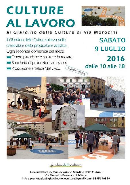 Culture al Lavoro al Giardino delle Culture, Milano