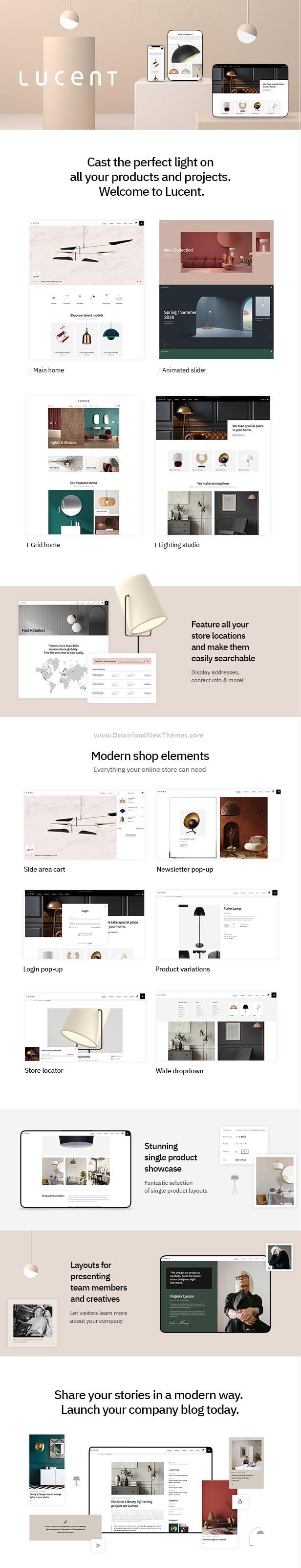 Lighting Shop WooCommerce WordPress Theme