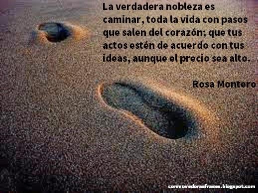 Conmovedoras Frases La Verdadera Nobleza Es Caminar Toda La