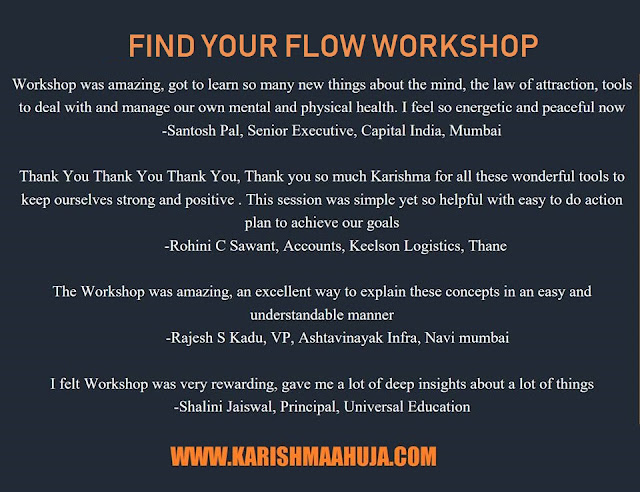 Dr  Karishma Ahuja, PhD: Learn some great #mindpower tools to manage
