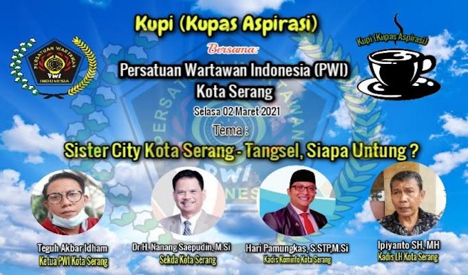 Besok, PWI Kota Serang akan Gelar Diskusi KUPI