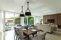 Villa with Design Tropical Modern