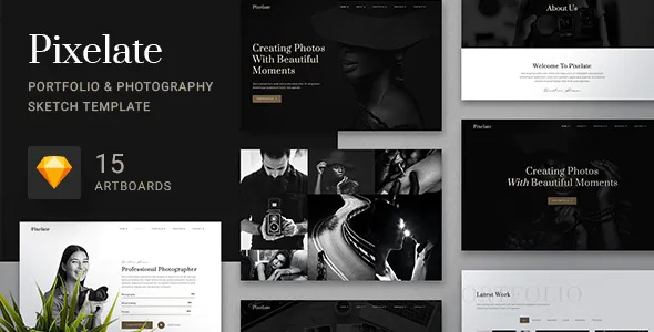 Best Photography Sketch Template