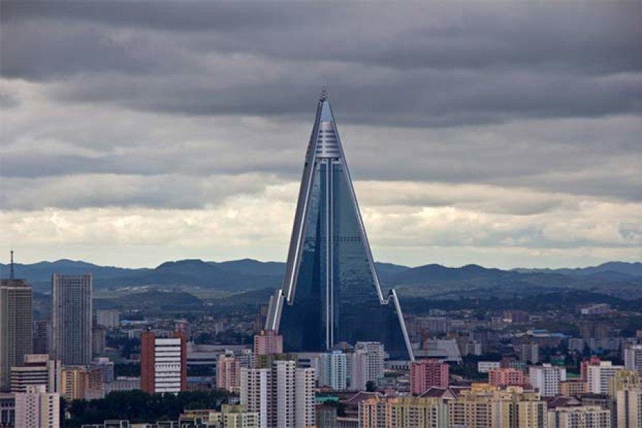 Ryugyong Hotel, Bangunan yang Tak Pernah Selesai Dibangun